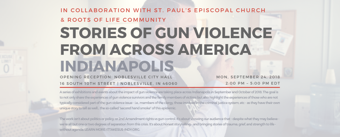 Stories of Gun Violence from Across America: Art Exhibit and Reception